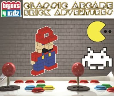 Classic Arcade Brick Adventures Camp