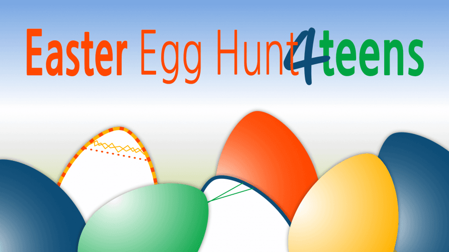 teen egg hunt